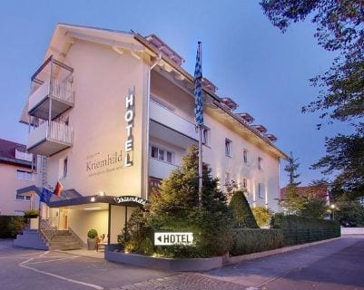 Außenansicht Hotel Kriemhild - Hotels for bauma 2019 in Munich