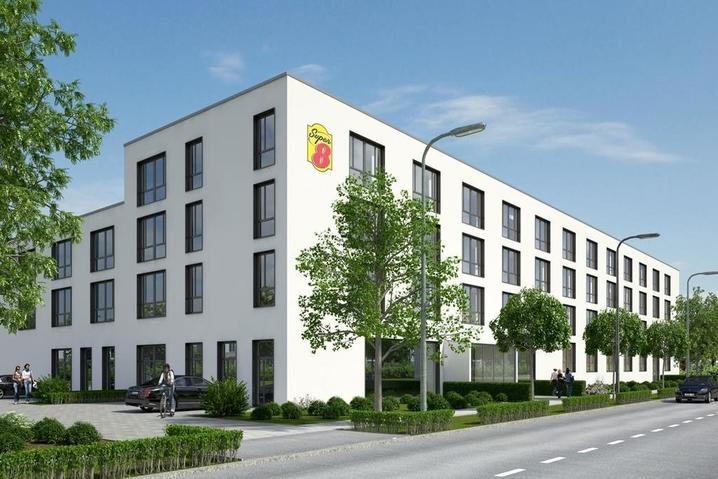 Außen Super 8 Munich City North München - bauma 2019 Messehotel - Hotel Super 8 Munich City North München