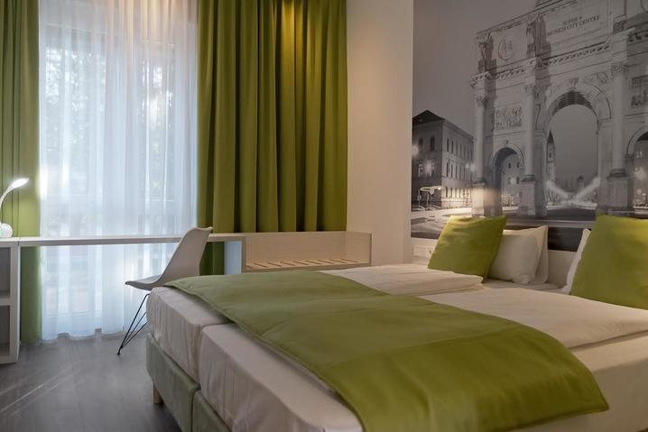 Hotelzimmer Super 8 Munich City North München - bauma 2019 Messehotel - Hotel Super 8 Munich City North München