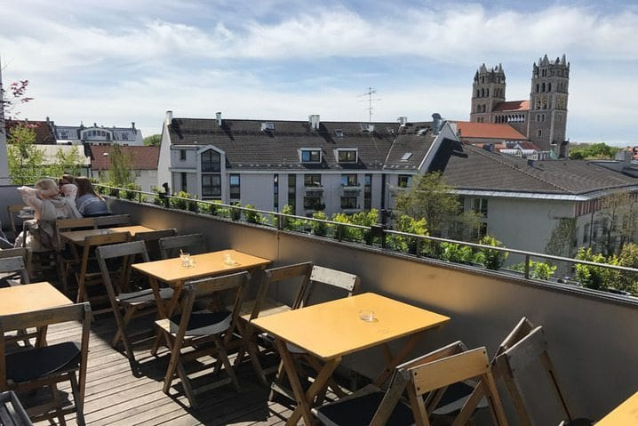 Rooftop Terrasse Hotel The Flushing Meadows - bauma 2019 Messehotel - The Flushing Meadows