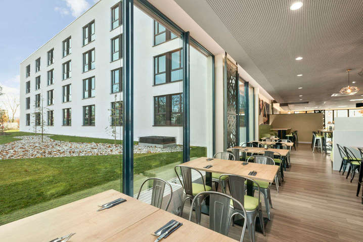 Speisesaal Super 8 Munich City North München - bauma 2019 Messehotel - Hotel Super 8 Munich City North München