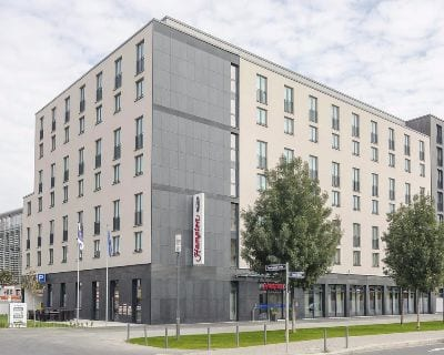 Außen Hampton by Hilton Frankfurt City Centre Messe - Trade Fair Hotels ACHEMA 2021 Frankfurt