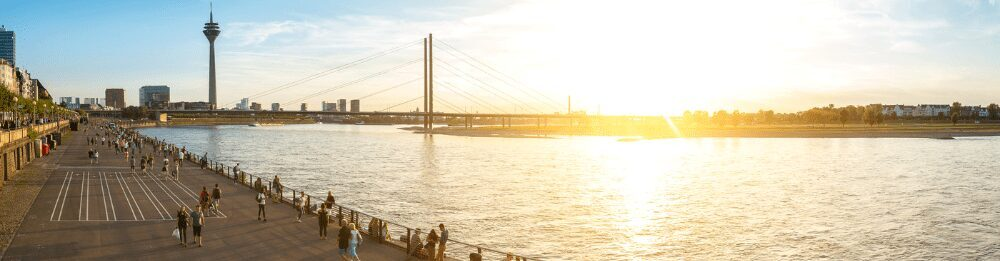 Duesseldorf Sonnenuntergang 1 - The 10 best dining spots in Düsseldorf
