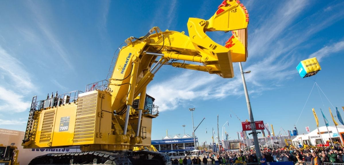 bauma exponate - bauma 2019 - the heartbeat of the construction machinery and mining machinery