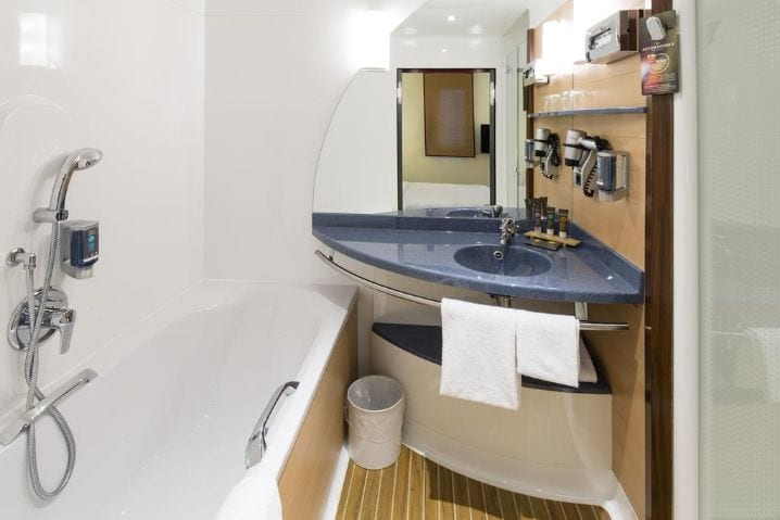 Badezimmer 4 - IAA Commercial Vehicles 2020 Novotel Suites Hotel Hannover City
