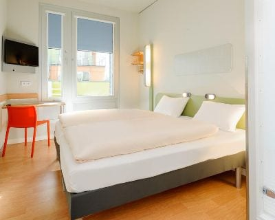 Doppelzimmer ibis budget Frankfurt City Ost - Trade Fair Hotels Light + Building 2020 Frankfurt