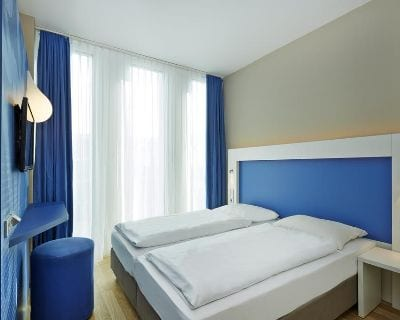 Doppelzimmer H2 Hotel München Messe - Trade Fair Hotels transport logistic 2019 Munich