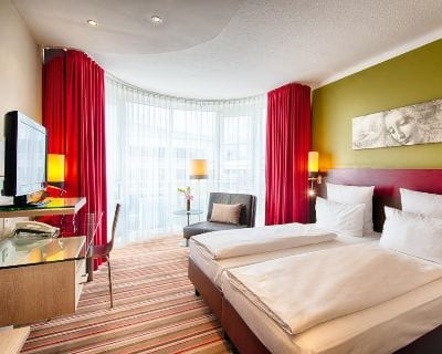 Doppelzimmer Leonardo Hotel Residence - Trade Fair Hotels for iba 2021 Munich