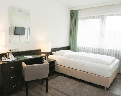 Einzelzimmer Hotel Concorde Bad Soden - Trade Fair Hotels Light + Building 2020 Frankfurt