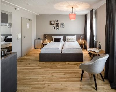 Zimmer BOLD Apartment Frankfurt an der Messe - Trade Fair Hotels ACHEMA 2021 Frankfurt