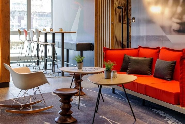 Lounge Hotel ibis Wuppertal City - IDS 2021 Hotel ibis Wuppertal City