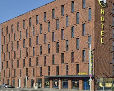 Aussenansicht BB Hotel Mainz Hbf - Trade Fair Hotels Light + Building 2020 Frankfurt