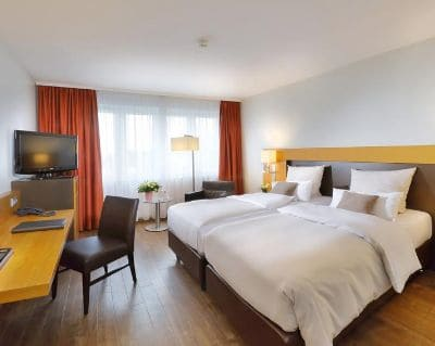 Doppelzimmer BWP IB Hotel Friedberger Warte - Trade Fair Hotels Light + Building 2020 Frankfurt