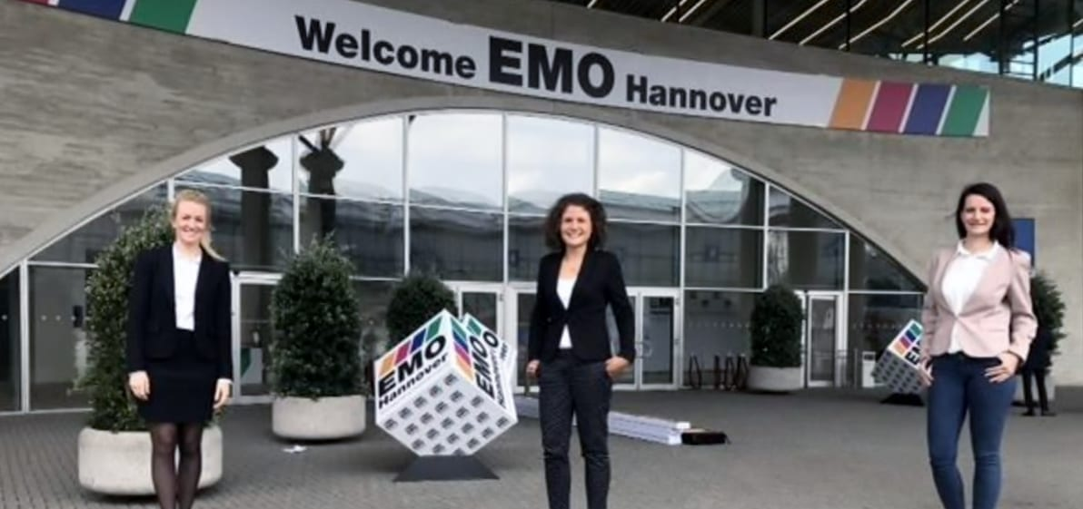 HM business travel auf der EMO Hannover - EMO Hanover 2019: the world's premier trade fair for the metalworking industry