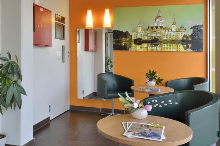 Lobby BB Hotel Hannover - Agritechnica 2019 B&B Hotel Hannover Nord