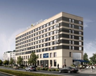 aussenansicht welcome hotel frankfurt - Hotel Light Building 2022 Francoforte sul Meno
