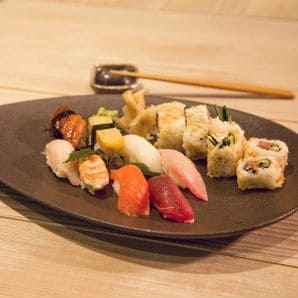 Moriki Frankfurt Sushi - The Top 10 Restaurants for visitors of the Frankfurt Trade Fair