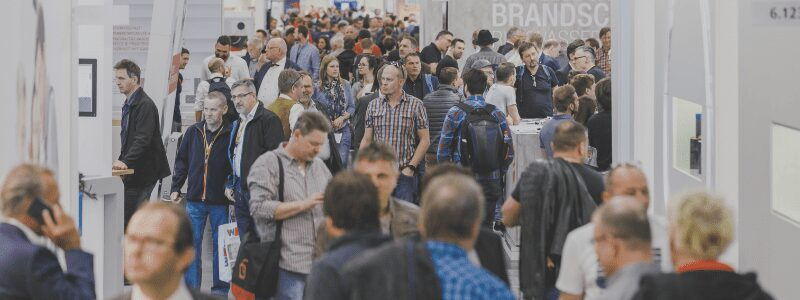 Messegeschehen auf der IFH Intherm 2018 in Nürnberg - The seven most important trade fairs for the construction industry