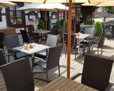 Restaurant Terrasse Landgasthof Zum Weißen Ross - Hotels for IAA Commercial Vehicles 2022 Hanover