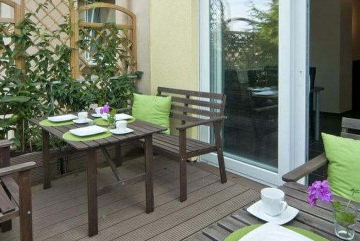 Terrasse Bed Breakfast BonnaNotte Essen - MEDICA 2019 Hotel B&B BonnaNotte Essen