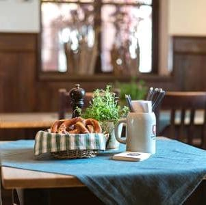 Franziskaner Wirtshaus Biergarten Muenchen - The 10 best restaurants for trade fair visitors in Munich