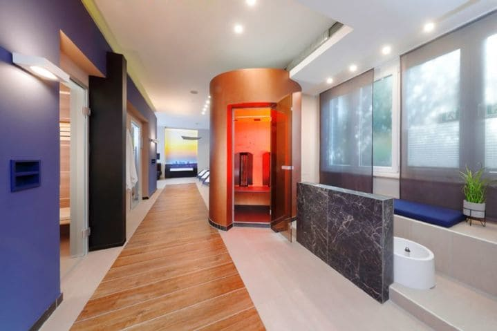 Best Western Premier IB Hotel Friedberger Warte Sauna Dampfbad - Light + Building 2020 Best Western Premier IB Hotel Friedberger Warte Frankfurt am Main