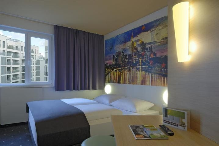 Doppelzimmer BB Hotel Frankfurt City Ost - Light + Building 2020 B&B Hotel Frankfurt City-Ost
