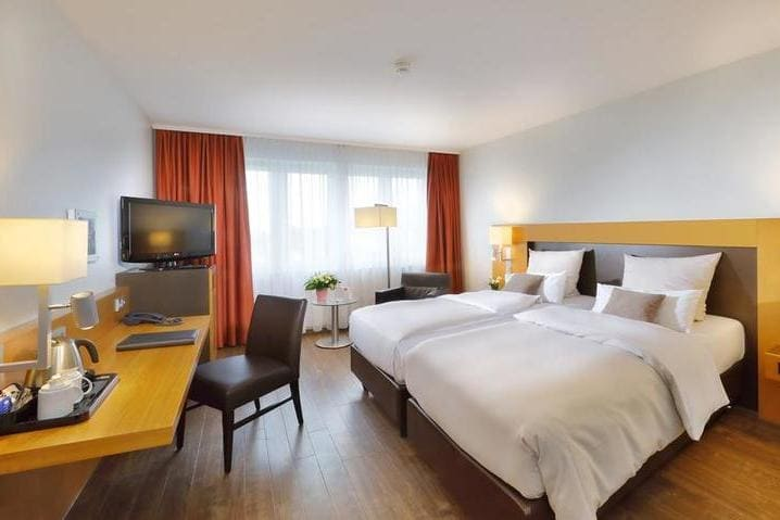Doppelzimmer Best Western Premier IB Hotel Friedberger Warte in Frankfurt am Main - Light + Building 2020 Best Western Premier IB Hotel Friedberger Warte Frankfurt am Main