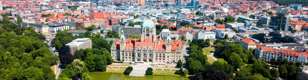 New Town Hall or Neues Rathaus in Hannover city - Unser Blog