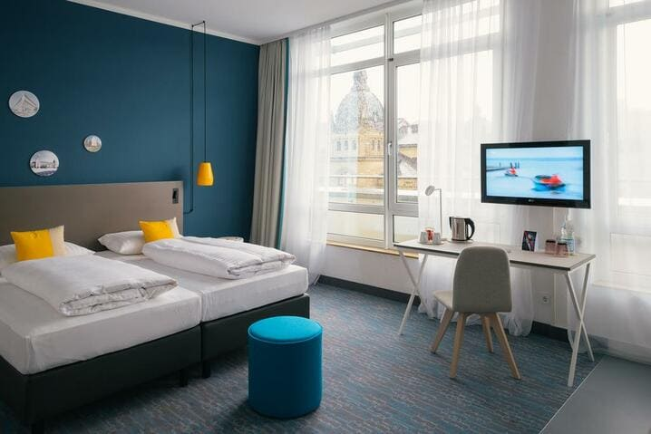 Doppelzimmer Vienna House Easy Wuppertal - IDS Cologne 2021 Hotel Vienna House Easy Wuppertal