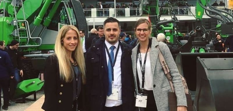 HM business travel besucht die bauma in Muenchen 1 - Bauma 2022 — the heartbeat of the construction and mining machinery