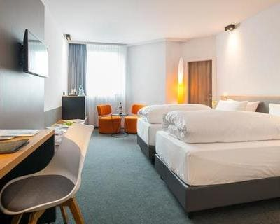 Doppelzimmer InterCity Hotel Wuppertal - Trade Fair Hotels IDS 2021 Cologne